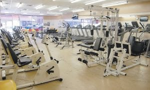 Although the Whitesburg Wellness Center was empty Tuesday afternoon, about 35 men and women use it on a daily basis. The facility will close August 29 because of federal black lung benefit cuts.