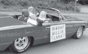 Bishop Willie Lamb was the special guest in the McRoberts Days parade on August 2.