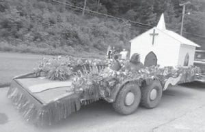 A float presented by the McRoberts Missionary Baptist Church took first place in the McRoberts Days parade on August 2.