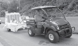 Moore's Chapel Church was represented by this float in the McRoberts Days parade.