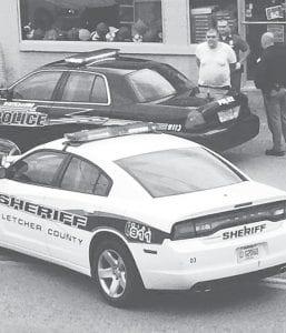 Police took Bradley Meadows into custody Sunday.