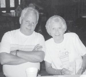 Carol and Edsel Baker are pictured attending a Hatton family reunion at Cowan Community Center.
