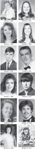Can you identify these Whitesburg High School graduates? Answers are at the bottom of the column.