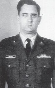 Everett Vanover is pictured in the 1960s when he served on an Air Force promotion board.