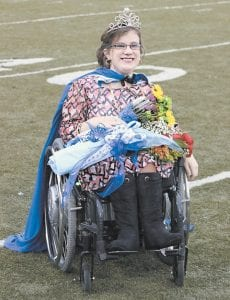 Casey Begley was crowned Homecoming Queen at Letcher County Central High School September 12.