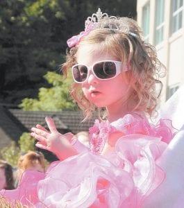 Mountain Heritage Baby Pageant winner Chloe Wright.