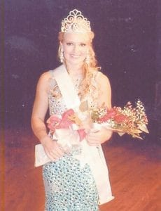 — Kristiana Ballou, 17, a senior at Letcher County Central High School, was named Miss Teen Mountain Heritage and Most Photogenic at the pageant held Sept. 20. She is the daughter of Kim and Kenny Ballou of Bill Moore Branch, and the sister of Kendall Ballou. Her grandparents are Kathy and Les McFall of Neon, and Alene and Arnold Ballou of Bottom Fork.