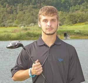 TO CONTINUE GOLF CAREER — Letcher County Central High School senior Tyler Frazier narrowly missed finishing in the top three at the regional golf tournament to earn a spot in the KHSAA state tournament. Frazier shot a 76 to finish in a tie for third, but couldn't overcome shooting a bogey on the first playoff hole and Jacob Beverly from Shelby Valley High School earned the final spot. The regional tournament was held at Paintsville Country Club and Frazier was attempting to be the first LCC golfer to make the state tourney since Matt Baker in 2009. Frazier plans to continue to play golf in college and currently has five scholarship offers.