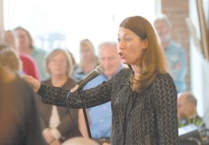 Alison Lundergan Grimes. (Photo by Heather Lind)