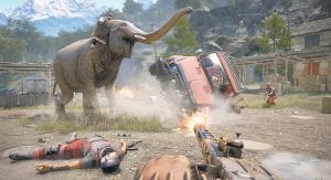 """A scene from the video game, """"Far Cry 4."""" (AP Photo/Ubisoft)"""