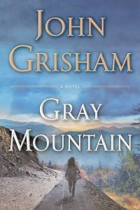 The cover of author John Grisham's new book is seen in this photo. The book is set in southwestern Virginia and eastern Kentucky.