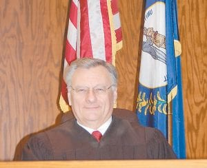 Letcher Circuit Judge Sam Wright has thrown his hat in the ring for the office of Supreme Court Justice in the 22-county Seventh District of Kentucky. (Photo by Sally Barto)