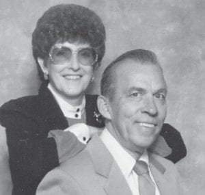 """James and Hilda Adams of Shepherdsville, are former Marlowe residents. """"He sure looks like his dad, the late P.W. Adams,"""" says Whitesburg correspondent Oma Hatton."""