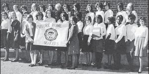 The Future Homemakers of America of Fleming-Neon High School are pictured in 1966.