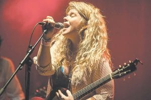 IN WHITESBURG FRIDAY — Amber Farris is the lead singer for the blues-rock band Somebody's Darling. The Nashville-via-Texas band is scheduled for an in-store performance at Roundabout Music Company in Whitesburg at 2 p.m. on Friday, followed by a full concert later Friday night at Summit City, also in Whitesburg.