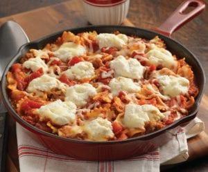 Classic Skillet Lasagna
