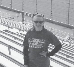 FEBRUARY BIRTHDAY — Katelyn Collins celebrated her 18th birthday at Atlanta Motor Speedway. She is the daughter of Tommy and Lula Collins of Colson, and granddaughter of Marcella Lucas of Colson, Jack and Carolyn Lucas of Whitesburg, and Wanda Collins of Colson and the late Tommy Collins.