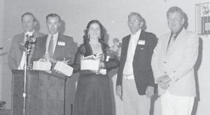 Pictured are Glennon Ison, the late Donald Shepherd, the late Burton Cox, and the late Kenneth Ison.