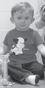 — Blake Joseph Walker, son of Christopher and Chelsea Walker of Hazard, turned two years old on March 29. He celebrated his birthday with a party at the Letcher County Recreation Center. His grandparents are Pam and Joey Walker of McRoberts, Ginger and John Reinstetle of Hazard, and Alonzo Fugate of Hazard.