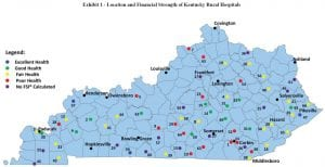 Rural hospitals in purple declined to make useful financial information available to the auditor's office.