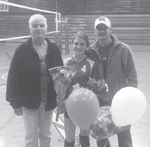 Breaunna Rose with her grandmother Nina Rose and father Chris Rose.