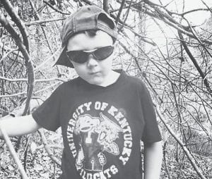 — Kaleb Nathaniel Miller of Carcassonne, turned seven years old on April 3 with an egg hunt and construction party on Easter Sunday. He is the son of Jennifer Combs and Damian Miller, and the grandson of Lee Roy and Diana Combs of Carcassonne, and Billie Miller of Blackey.