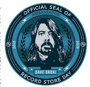 "Musician Dave Grohl of Foo Fighters, formerly of Nirvana, is the ""official ambassador"" of Record Store Day 2015, which will be observed this Saturday (April 18) at Roundabout Music Company in Whitesburg."