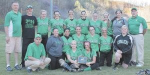 The Jenkins High School Lady Cavaliers softball team and coaches were all smiles after winning another 14th Region All 'A' Championship.