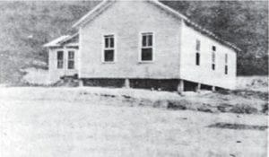 The Letcher County School System's Sycamore School was located at Jeremiah before fire destroyed it in spring 1956.