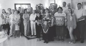 VOLUNTEERS HONORED — Letcher Manor recently hosted a luncheon for volunteers who give their time to the facility. National Volunteer Week was celebrated April 12 to April 18.
