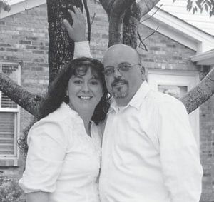 Pictured are the late Tony Howard and wife Gina of Nicholasville. He died in December 2012. He was the son of Hubert Howard of Whitesburg.