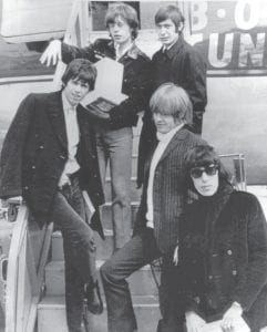 The Rolling Stones are pictured in 1965. Clockwise from left are Keith Richards, Mick Jagger, Charlie Watts, Brian Jones and Bill Wyman. (AP Photo)