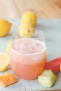 Mixed Melon lemonade
