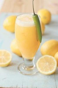 Mango-Chili lemonade