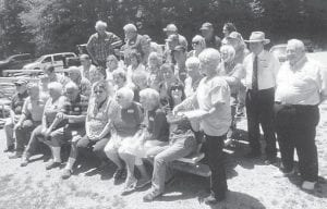 The Marlowe reunion was held May 23 at the Earnest Cook Memorial Park in Whitesburg.