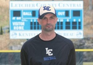 Bryan Dean has been LCC's only baseball coach. (Photo by Tonya Aslinger)