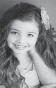 — Addison Malia Collier, 6, was crowned Lil' Miss Kentucky at the Kentucky Festivals State Pageant in Lexington. She will represent Kentucky at the AmeriFest US National Pageant in Nashville, Tenn., July 24-26. She is the daughter of Brandie and Roger Collier of Mayking. Her grandparents are Debbie and Gary Polly of Mayking, and Pat and Eddie Webb of Laurel Fork.