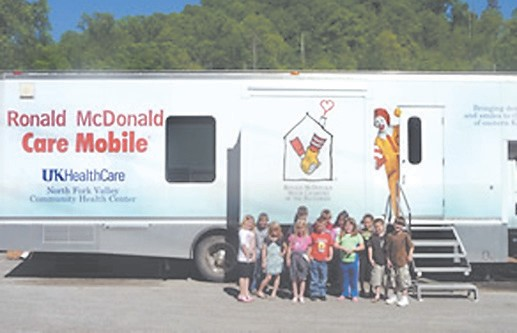 Mobile clinic has been fixing children's teeth for 10 years