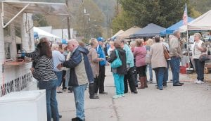 David Kinneer snapped this photo that showed just part of the large crowd that attended the Blackey Days Festival held last weekend. Columnist Ike Adams says he has his calendar marked already for next year's festival.