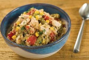 Quinoa Chicken Vegetable Salad