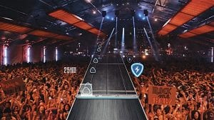 "This video game image released shows a scene from ""Guitar Hero Live."" (Activision via AP)"