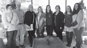 Seven students who are in the Southeast Kentucky Community and Technical College Death and Dying Class visited Letcher Manor with Professor James McDannel. The students discussed life stages and the role of nursing homes in the rehabilitation of some residents as well as improving the quality of life of those at the end of their lives.