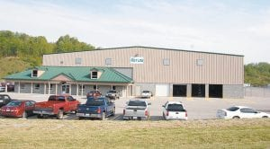 "Ferus Inc. will leave behind the 42,000 square foot building seen above but will take away the $32 million worth of equipment (some of which can be seen in photo at right) it has installed at its Gateway Industrial Park location near Jenkins. Ferus announced Tuesday that it is closing its Letcher County operation ""permanently"" and laying off 20."