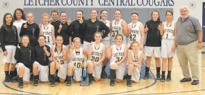 The Fleming-Neon Lady Pirates are the 2015 Letcher County Elementary Athletic Association Champions for the second year in a row. Fleming-Neon defeated Whitesburg Middle School 24-20 to win the championship. The Lady Pirates finished the season with a record of 17 wins and 2 losses, and undefeated in Letcher County for the second year in a row. The team is coached by Marsha Holcomb and Bumper Adams. Pictured are (kneeling, left to right) Autumn Wampler, Tori Holcomb, Makaylee Branham, MaKinley Roark, Emileigh Boggs, Kara Breeding, Skye Brown, (standing, from left) Madison Polly, Assistant Coach Marsha Holcomb, Makenna Tolliver, Bailey Kincer, Kandis Jenkins, Ryley Hampton, Camryn Collins, Brooklynn Collins, Kyra Johnson, Isabel Hampton, Kaylee Bentley, Abby Howard, Shayla Hall, and Head Coach Bumper Adams.