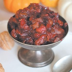 Still no cranberry sauce fan? Maybe bacon will convert you. (AP Photo)