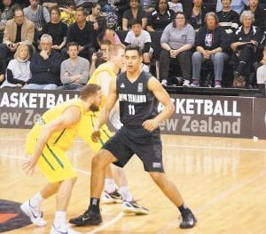 Tai Wynyard, right, isn't worried about whether he redshirts or plays this season. The 6-9 forward from New Zealand is excited just to be joining Kentucky for the second semester. (New Zealand Breakers Photo)