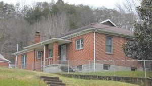 """This house that Dr. Thomas Collier built in Whitesburg in the early 1930s is now the """"manse"""" for the Graham Memorial Presbyterian Church."""