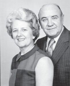 "Elizabeth Dudley ""Dottie"" Combs Webb and Woodford ""Dude"" Webb were well known Letcher County residents. Mr. Webb died in 1993."