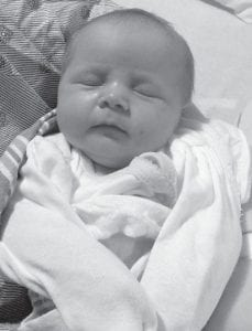 — Kara Blake Middaugh was born November 19 to Robin and David Middaugh. She is the granddaughter of Kendra and Shane Collier, and Beth and Roger Middaugh.