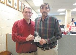 Lincoln County PVA David Gambrel met with Letcher County PVA Randy Hall.